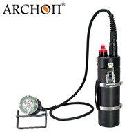 ARCHON DH40 WH46 Канистра Дайвинг свет комплект XM L2 4000lm 150 м Подводный водонепроницаемая Дайвинг факел с аккумулятор + зарядка кабель