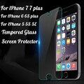 Закаленное Стекло Чехол Для Alppe iPhone 7 7 plus 6 6 S 5 5S SE Обложка Протектор Экрана Защитная Пленка Для iPhone 7 Чехол Капа