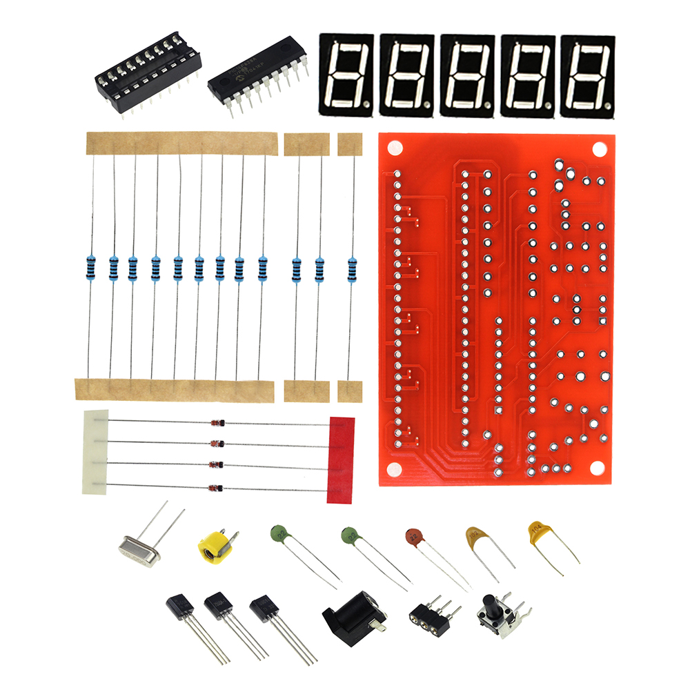 Frequency Counter Kit : Smart electronics hz mhz crystal oscillator frequency