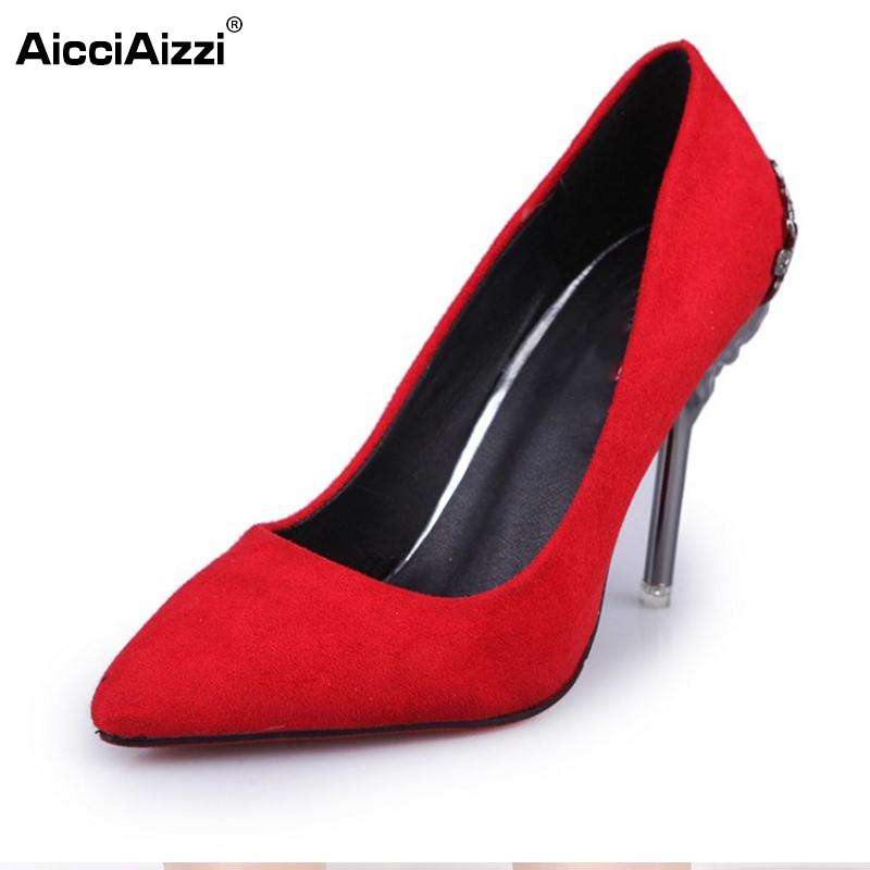 Lady Club High Heel Shoes Women Patchwork Solid Color Thin Heels Pumps Pointed Toe Office Party Shoe Wedding Footwear Size 35-39 cicime women s heels thin heel spikes heels solid slip on wedding fashion leisure casual party dressing high heel platform pumps