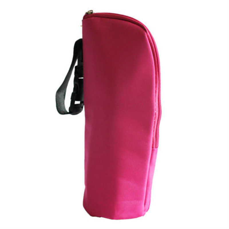 Calentadores de biberones térmicos, bolso para mamá, bolso para colgar en el cochecito, tela Multicolor, película de aluminio portátil, producto en oferta