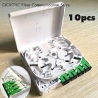 10 pièces 4 noyaux Boîte à Bornes De Fiber/FTTH ODN