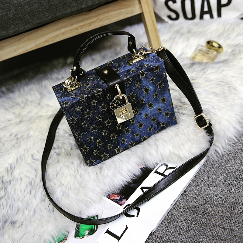 Famous Brand Luxury Handbags 2017 Designer Women Shoulder Bags Blue Messenger Bags Small Box Bag Clutch Evening Bag Purse Bolsos women messenger bags day clutches bag designer rabbit fur shoulder bags for party handbags women small evening bags bolsos a0325