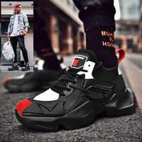 Todos los hombres negros Zapatos De Tenis Masculino Adulto ligero cómodo blanco Zapatillas De deporte Zapatos De Hombre De moda Zapatillas Casuales