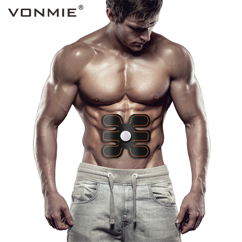 6 Pack To Assure Years Of Trouble-Free Service Beautiful Smart Fitness Ems Abdomen Muscle Trainer With Arm Toner
