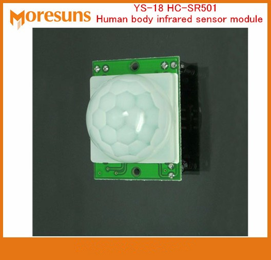 5cffd1f1ba 高速無料船20ピースys-hc-sr501人体赤外線センサーモジュールでオリジナルプローブ盗難防止誘導スイッチモジュール