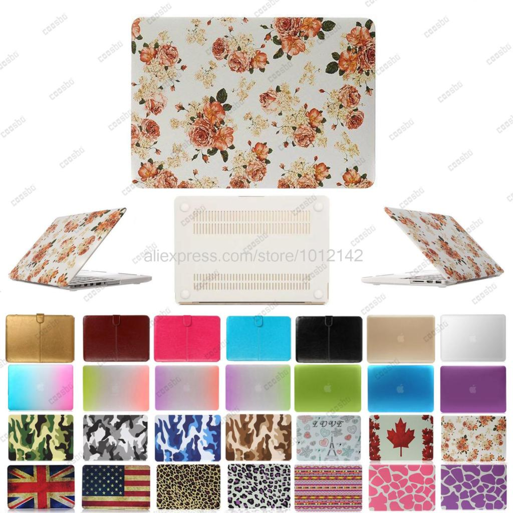 Rainbow Camo Protective Smart Shell Ultra-thin Matte Hard Shell Case Cover For 11