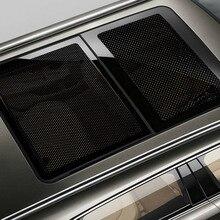 2pcs/lot 63*42Cm Car Sticker Sunshades Electrostatic Side Window Sunscreen Film Cover Styling