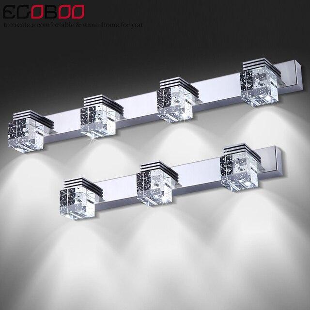 2017 led lampada crystal modern bathroom mirror lighting Sconce Lamps In Bathroom Light 12w Crystal Led Wall Lamp Ac 110-220v