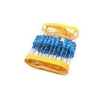 20шт 2W металлический пленочный резистор 1% 2K2 OHM 2W 1% 2,2 K 2W металлический пленочный резистор