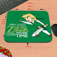 Legend of zelda ocarina of time logo Print Anti-slip New Arrival Customized Mouse Pad Computer PC Nice Gaming Mousemat As Gift
