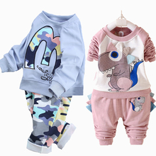 Bébé Garçon Vêtements Bébé Fille Vêtements Ensemble Infantile Vêtements Enfant enfants Garçons Vêtements Ensemble Bébé Fille Tenue 2016 Nouveau De Mode coton