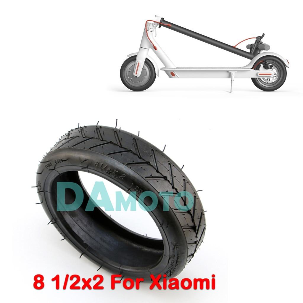 Verbesserte Xiaomi Mijia M365 Elektrische Roller Reifen 8,5 8 1/2x2 Stoßdämpfer Nicht-pneumatische Reifen Dämpfung Gummi Reifen 100% Hochwertige Materialien Motorrad-zubehör & Teile Automobile & Motorräder