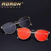 Aoron 2016 Style High Clear Sunglasses Fashion Colorful Round Shave Sunglasses Woman Fashion 5534
