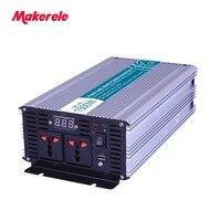 12V 220V Pure Sine Wave Power Inverters 1500w 3000w Peak Converters MKP1500 242 Off Grid Voltage