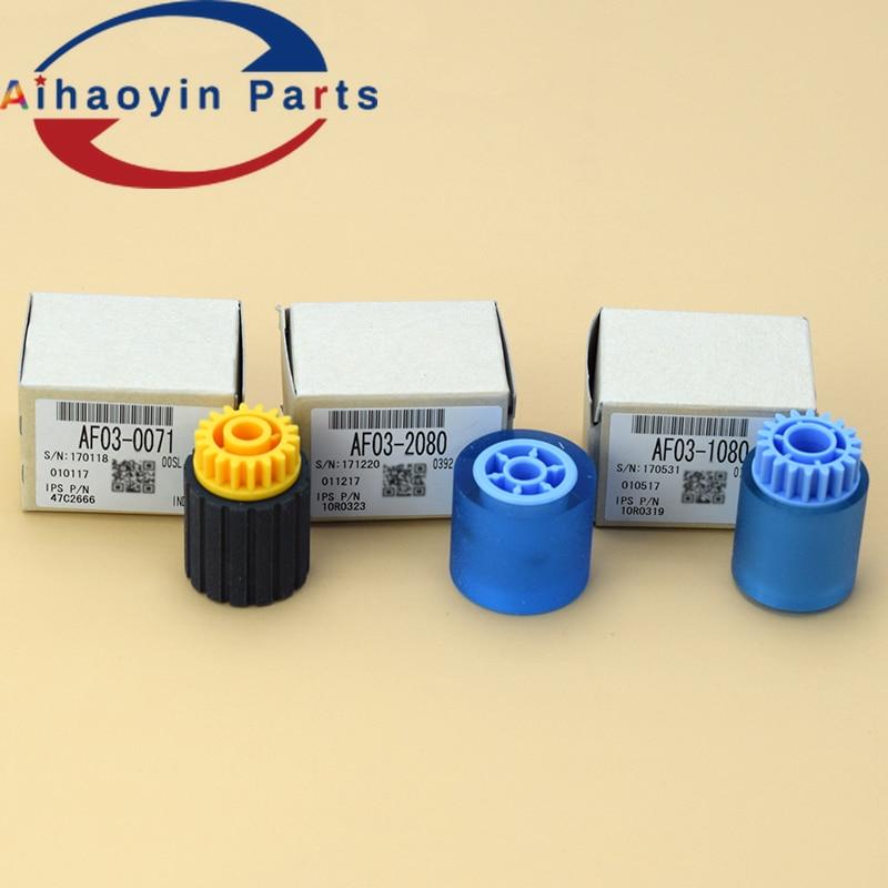 1SETS AF03-0071 AF03-1041 AF03-2014 1Set 3pcs Original Pickup Roller Kit for Ricoh Pro 8100 8120  C651 C751 C651EX C751EX 8100SE