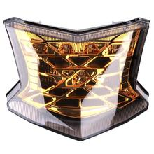 цены for  Motorcycle Tail Light Motorbike Brake Light Rear Lamp Integrated Motors Turn Signal Light For Kawasaki Z900 Z650 2017-2018