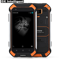 Flash Sale GuoPhone V19 4500mAh IP68 Waterproof Rugged 4.5IPS MTK6580 Quad Core 2GB+16GB Android 5.1 GPS FM 8MP 3G Mobile Phone