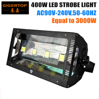 China Stage Light Supplier 400W Professional Martin Led Strobe Light 4 100W White Color Adjustable Speed