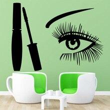 Drop Shipping Eye Sticker Waterproof Vinyl Wallpaper Home Decor For Kids Rooms Decoration Wall Art MURAL