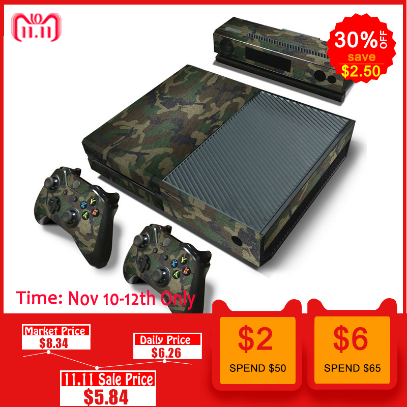 Faceplates, Decals & Stickers Video Game Accessories Jeep 11 Xbox One S Sticker Console Decal Controller Vinyl Skin Buy One Get One Free