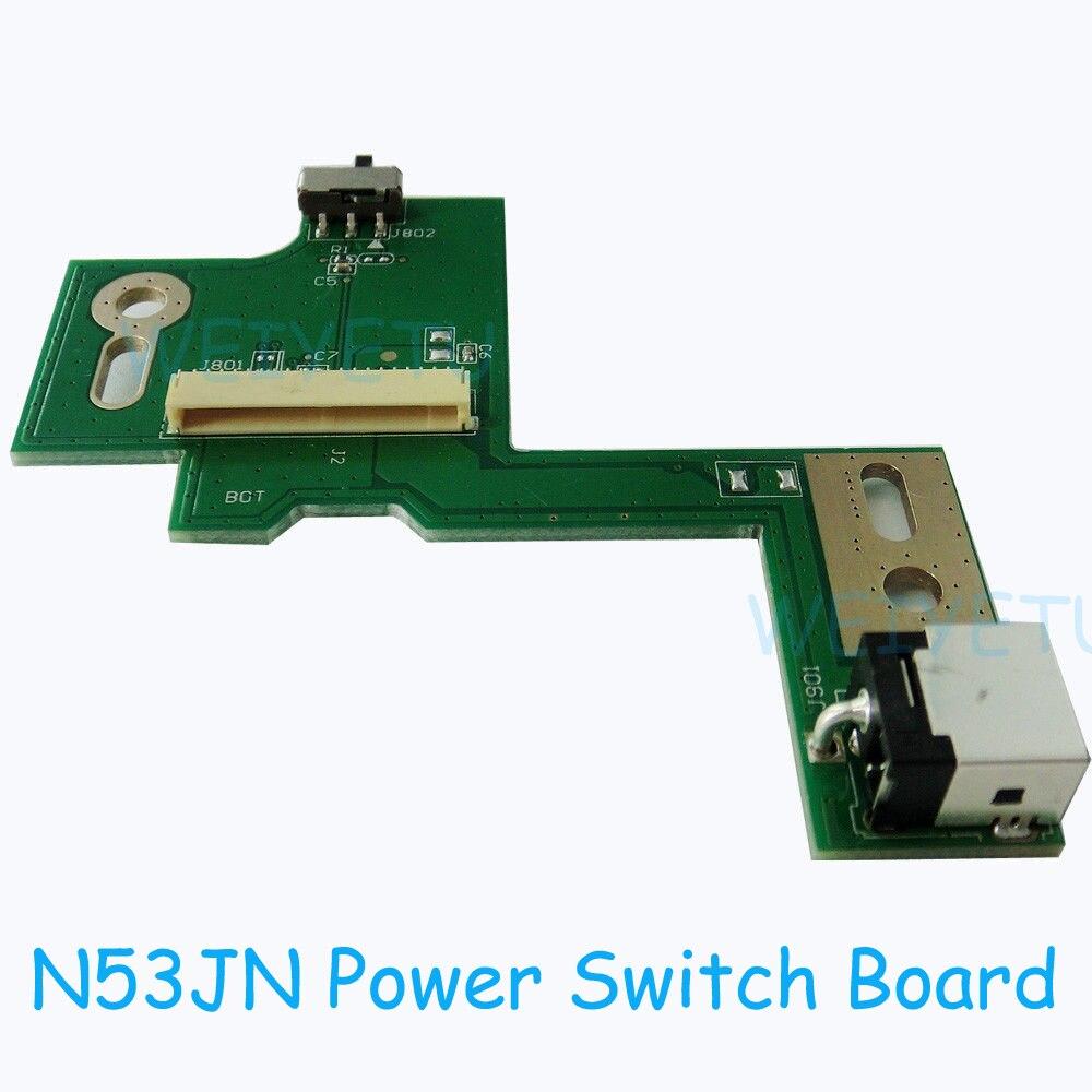 N53JN DC PUISSANCE JACK SWITCH BOARD Pour ASUS N53JQ N53SV N53JF N53SV N53S N53J N53TA N53TK N53SM N53DA N53SL N53SN série