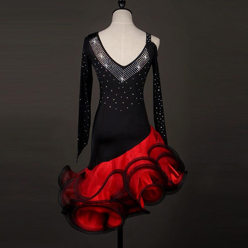 sexy Latin Dance Dress Women latin dress for girls salsa tango waltz competition costumes latin performance dress woman