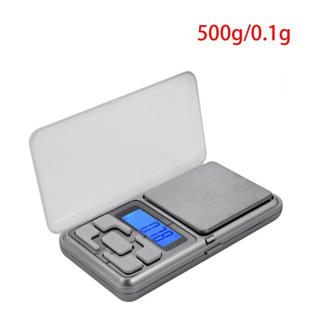 Lcd Display 0 1gx500g Jewelry Weigh Digital Scales Mini Electronic Balance Pocket Kitchen Useful Tools