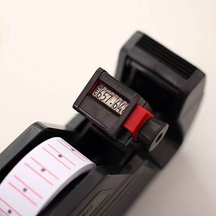 Deli 7500 Black Good Quality Metal Normal Price Labeler Can Make Practical Set 21.5*12 Price Paper New Hot Sale Price Labeler