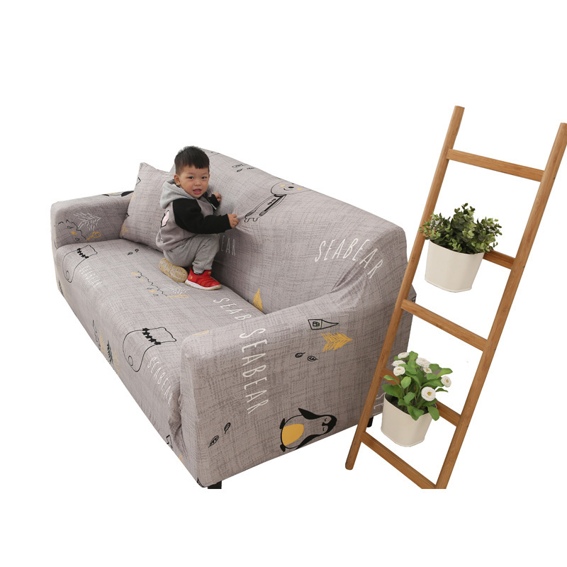 Image 5 - Home textile brief European pure color 1 3person elastic universal sofa cover sofa cover anti slip full leather sofa combination-in Storage Bags from Home & Garden