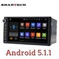 2Din Универсальный Автомобильный Радиоприемник Андроид 5.1.1 Леденец Quad Core Головное устройство 1024*600 HD Автомобильный GPS Navi RDS Поддержки Google maps 3 Г Airplay