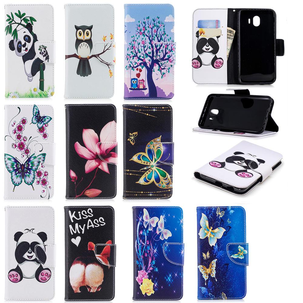 Fundas de teléfono para Samsung Galaxy J3 Funda de cuero Flip Wallet - Accesorios y repuestos para celulares - foto 6