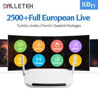 Dalletektv Europa IPTV Box Zweden Spanje Griekenland IUDTV IPTV Abonnement 2500 + IPTV Duitsland UK Scandinavië VIP Sport Live