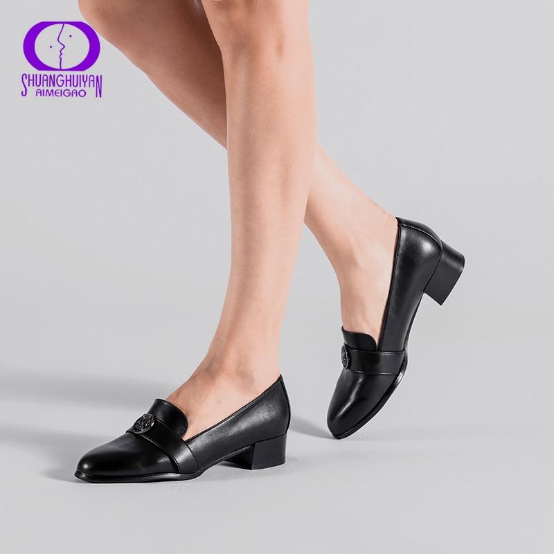 Chaussure à talon en cuir PU pour femme ...