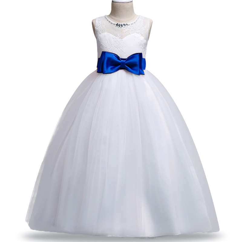 2019 New Girls Evening Wedding Birthday Flower Girl Dresses For Party Girls Dress First Communion Princess Dress Baby Costume