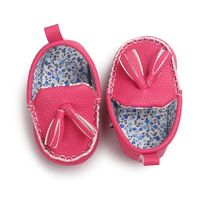Fashion Cute Crib Shoes Baby PU Leather Shoes Infants Girl Boy Soft Sole Sneakers First Walker 0-18Month