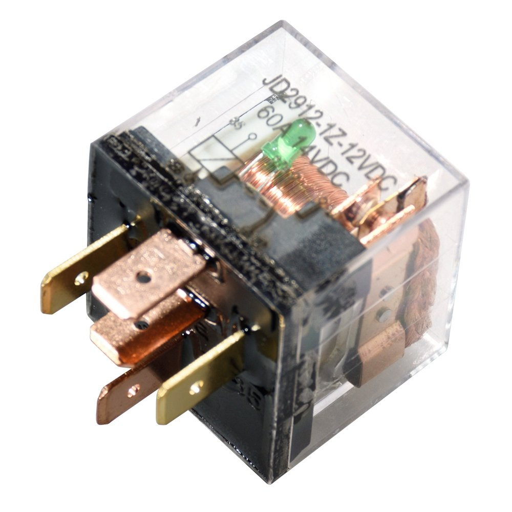 KH 5 / Set Auto Relaissockel 12 V / 24 V 60A AMP 5 Pin SPDT Stecker 5 - Autoelektronik - Foto 4