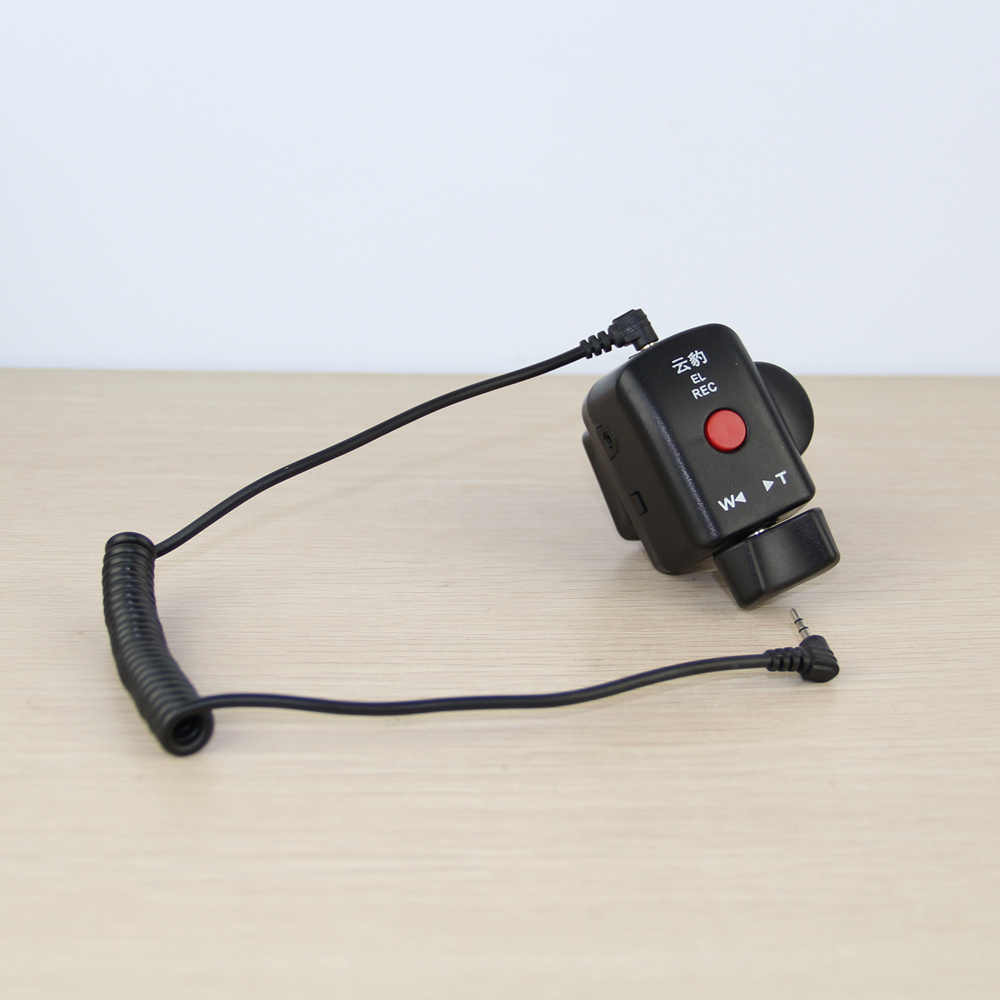 Camcorder Zoom Remote Control 2.5mm-Jack Cable For Canon Sony Lanc Video Cameras