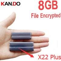 X22 pin 40 H làm việc 8 Gb máy nghe nhạc mp3 + tập tin mã hóa đĩa bộ nhớ thời gian + audio ghi âm với thời gian tem voice recorder music player