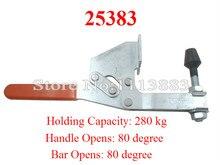 2PCS Horizontal Handle Toggle Clamp 25383 Holding Capacity 280KG 618LBS