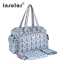 Free Shipping Fashion Baby Diaper Bag With Durable Microfiber Multifunction Baby Mommy Bag Nappy Bag