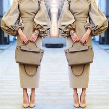 2016 Хлопок Осень Dress Off The Плечо Фонарь Рукав Vintage Длинные Dress Женщины Fashion Party Платья Femme Vestidos