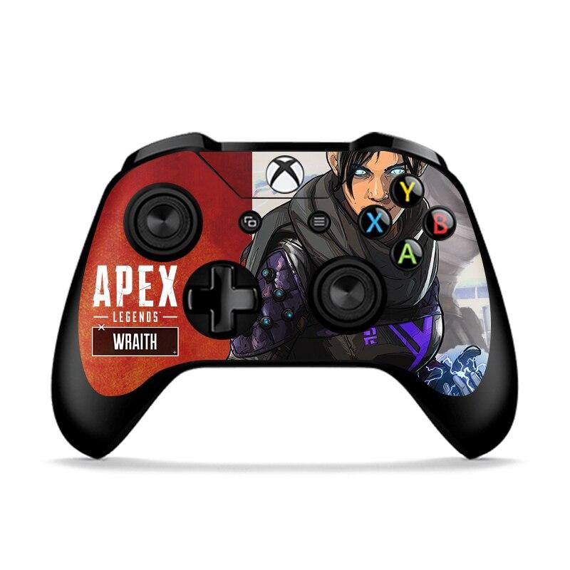 RETROMAX 2pcs Skin Of Apex Legends For Xbox One/Xbox One Slim Controller Sticker Skin For Xbox One/Xbox One Slim Apex 5