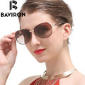 BAVIRON Diamonds Legs Sunglasses Women Metal Frame Polarized Glasses Vintage Cable Eye Piece Colorful Stylish Sun Glasses 163