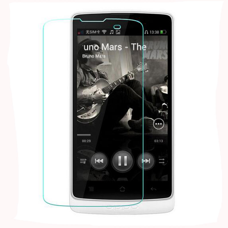 0.26mm 9H premium Tempered Glass Screen Protectorquality for <font><b>oppo</b></font> R815 R815T R815W 4.3 inch Protective film in retail box