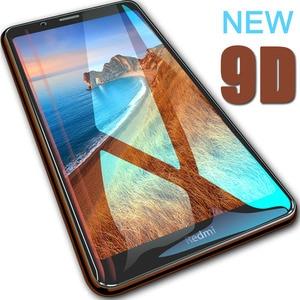 Image 1 - 9D Redmi 7A verre de protection pour Xiaomi Redmi 7A protecteur décran verre trempé couverture complète xiomi xiami ksiomi redmi 7a
