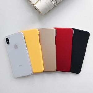 Image 4 - Für Samsung Galaxy A50 Fall Schlanke Candy Farbe Matte Harte PC Zurück Abdeckung Für Samsung Galaxy A50 A30 A10 A40 a60 A70 A80 A20E Fall