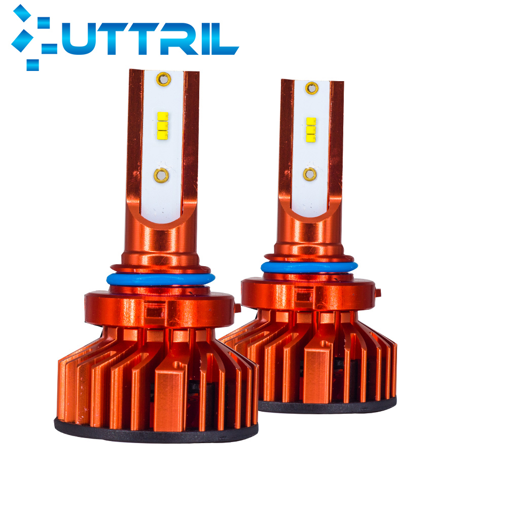 Uttril F2 Led Headlight 80W 12000LM H4 H7 LED Car Headlight H1 H3 H8 H9 H11 9005 HB3 9006 HB4 880 881 H27 LED Fog Lamp Auto 12V image