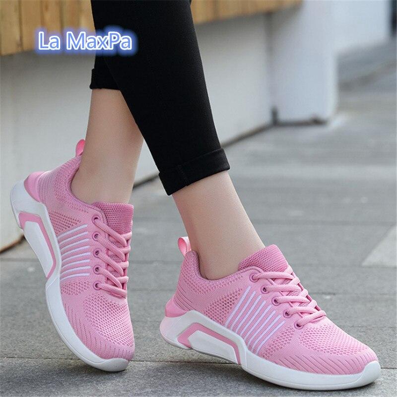 Высококачественная для бега обувь для Для женщин zapatos mujer кроссовки дышащие кроссовки Для женщин женская обувь для спорта и прогулок бег