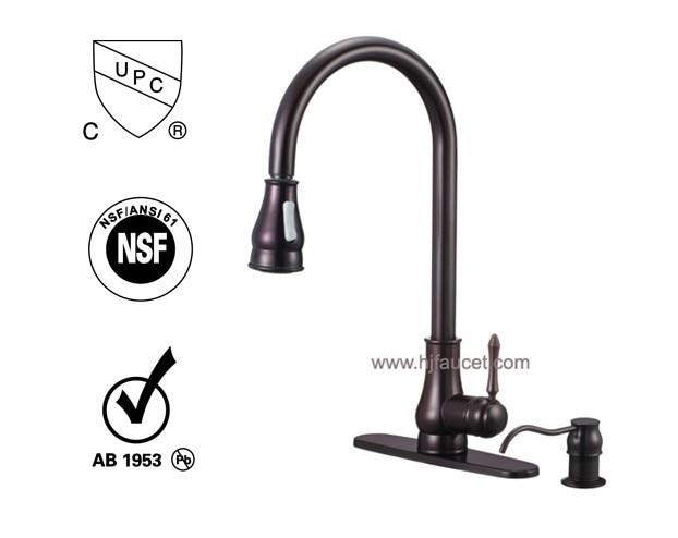 upc 61 9 nsf water ridge single handle pull out kitchen